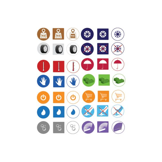 Icons to Buy - Pyramid Pixels Studio $35 custom colors available