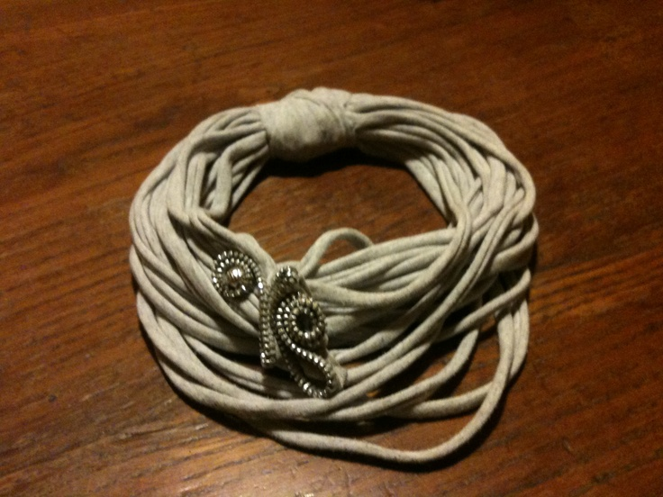 Collana maglina e cerniera