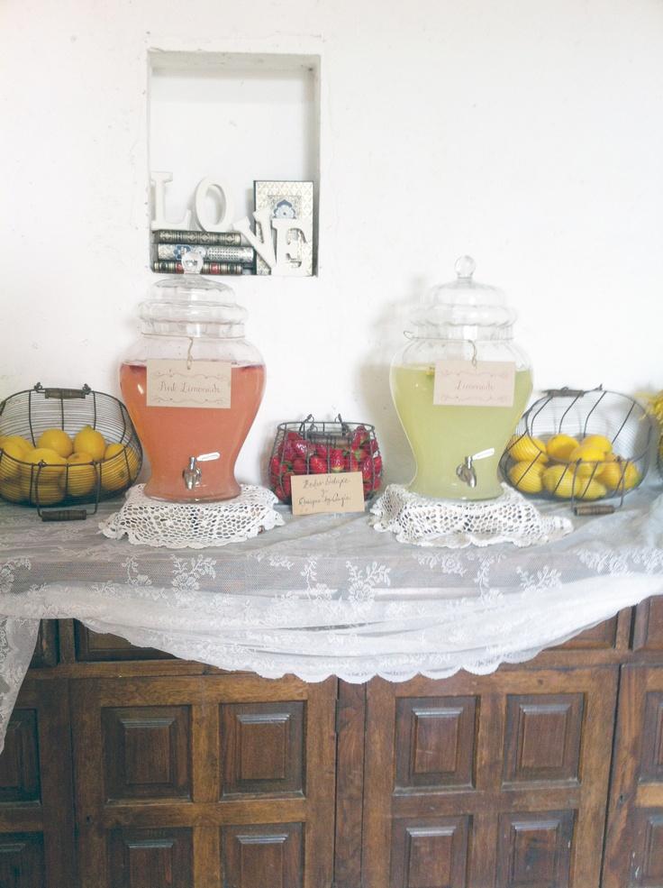Lemonade Bar. Otra vista de nuestra Lemonade Bar vintage.