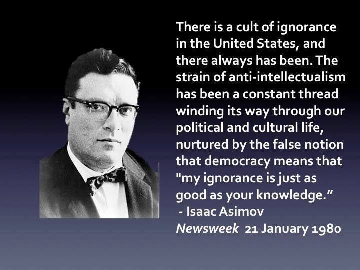 Image result for asimov anti intell