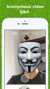 Mustknow is a smartphone app that allows you to ask anyone a video question without revealing your identity anonymously.