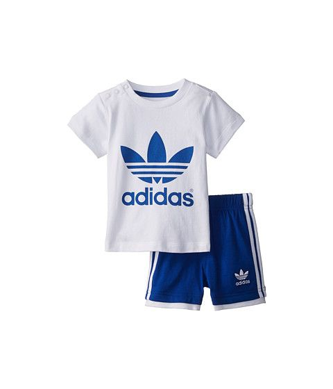 adidas Originals Kids Trefoil Tee/Short Set (Infant/Toddler)