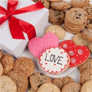 Enter to Win a Valentine Cookie Gift from Cookie Gift Baskets!  #choosetobemoreloving @Penn Foster