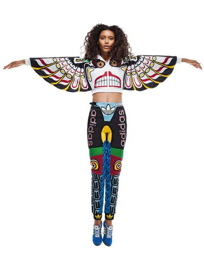 @adidas Originals x Jeremy Scott Spring/Summer 2013 Lookbook - @ITSJEREMYSCOTT teames up with adidas Originals once again and drops a new full collection for men and women. Following up on the Totem Sneaker released late last year some styles of the collection feature the full on totem pattern and colors as well as the wings – of course. #idemtiko