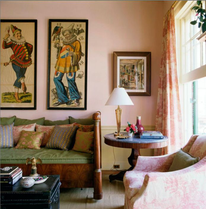 French Quarters Apartments: 80 Best Color Schemes- Ballet Pink From Serenity Color
