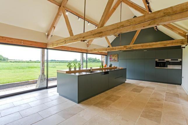 modern barn kitchen
