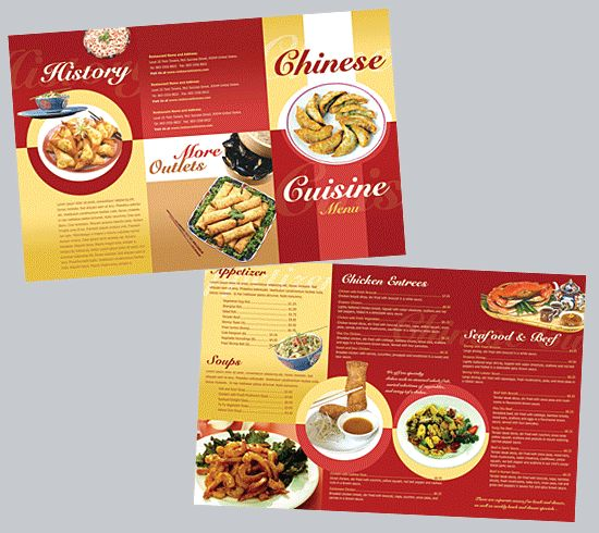 20 best Menu Ideas images on Pinterest Restaurant menu design
