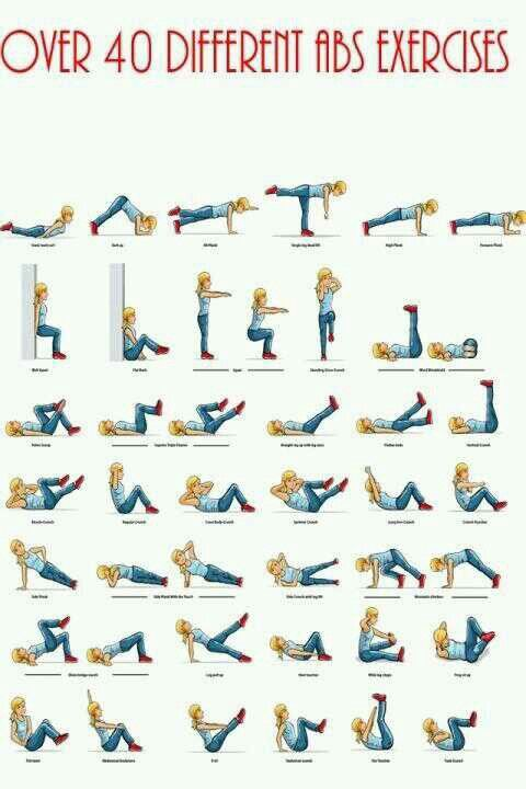 Different ab workouts