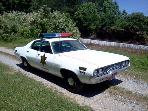 The Dukes of Hazzard  1971 Plymouth Satellite Rosco P Coltrane Police Car MOPAR, image 13