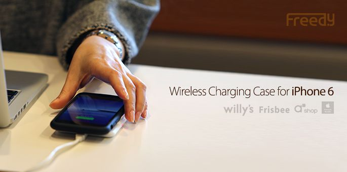 KWP-208 Freedy Wireless charging case for iphone 6 / Qi+PMA dual Mode / Apple MFi certified / Made in korea ‪#‎iphonewirelesscharging‬ ‪#‎wirelesscharging‬ #i6wirelesscharging #iphonecase