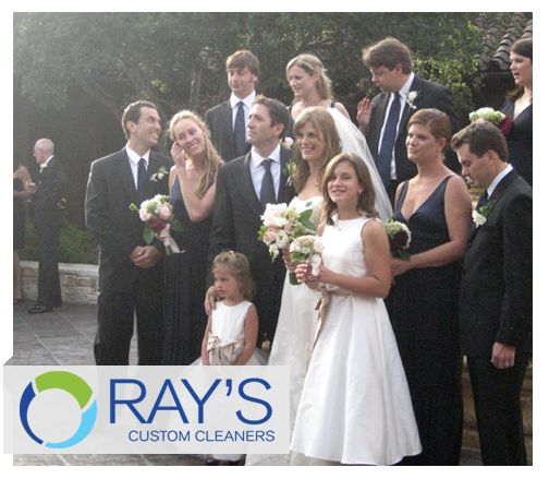 Wedding season is right around the corner, be sure everyone in your wedding party is comfortable and spiffy. Let Ray's Custom Cleaners handle any of the alterations or tailoring that your party may need!  www.rayscleaners.com