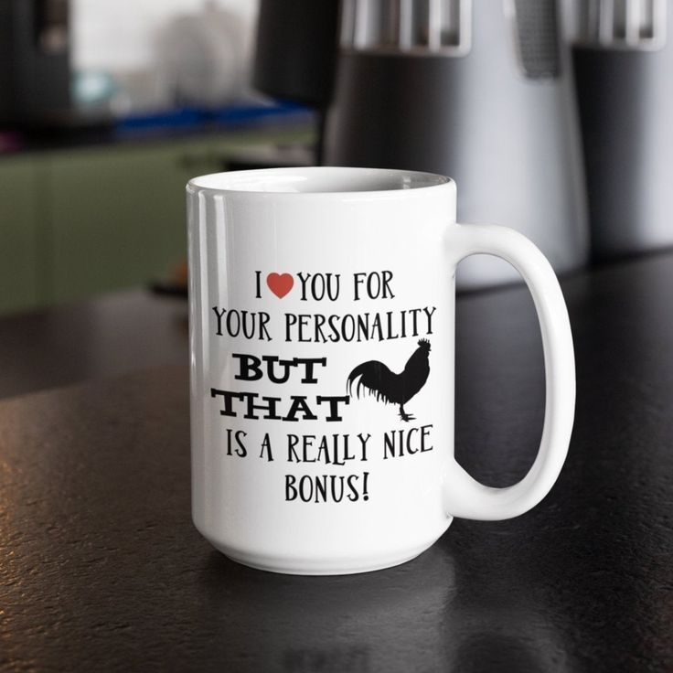 I Love Cock Novelty Gift Printed Tea Coffee Ceramic Mug