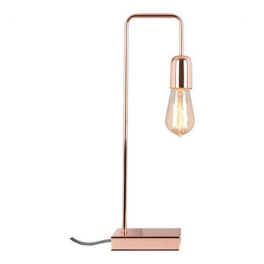 Cult Living Elegance Metal Table Lamp in Copper   Cult UK