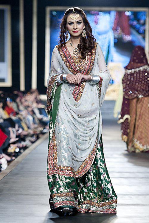 {Pakistan Bridal Couture Week 2010 - Fahad Hussayn} -