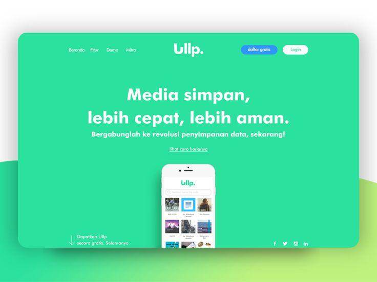 Ullp landing page