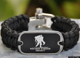 Survival Straps - woven rope that has saved lives through its versatility in times of need. 50% of proceeds go to Wounded Warrior Project. Looks cool, too. $31.95