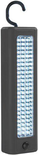 Lunartec Kabellose Hochleistungs-Arbeitsleuchte, 72 LEDs, 60 lm, 1 W