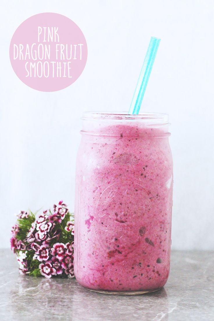 Dragon fruit comes in three colors white pink and red or magenta white - 3 Ingredient Pink Dragon Fruit Smoothie Vegan Glutenfree Recipe