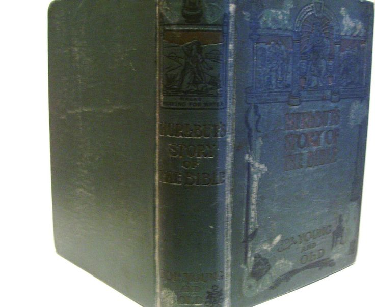 1904 Hurlbuts Story of the Bible Children Bible Study Lessons Stories Antique