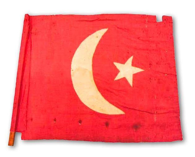 An Ottoman Flag, 1914 (Bir Osmanlı Bayrağı, 1914)