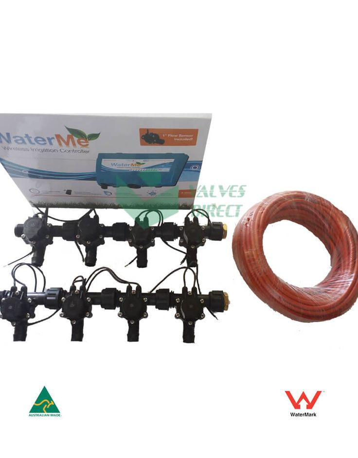 Getting the right irrigation valve to getting the right 9 core irrigation wire, or to getting the 2-wire control technology, everything has to be perfect.
