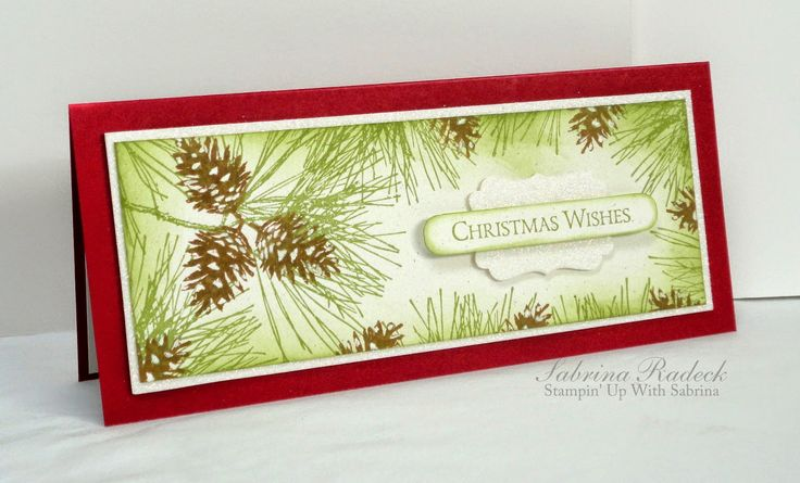 Stampin' Up With Sabrina: Door Busters and Ornamental Pine