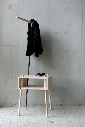 Minimalist coat stand