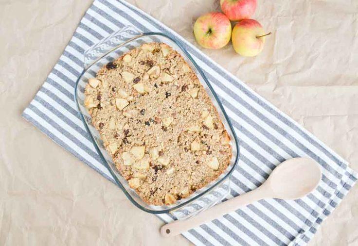 Alleen de geur uit de keuken maakte dat onze buikjes gingen rommelen. Dit is het recept voor overheerlijke gebakken havermout met appel en kaneel..
