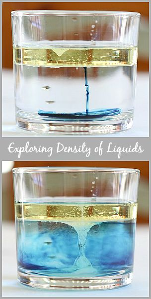 Study the science of density with simple household ingredients!