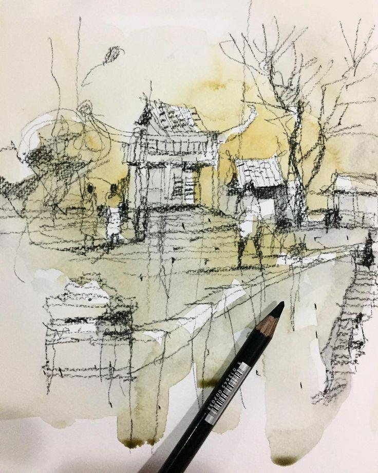 test #conte pencil #sketch #contepencil