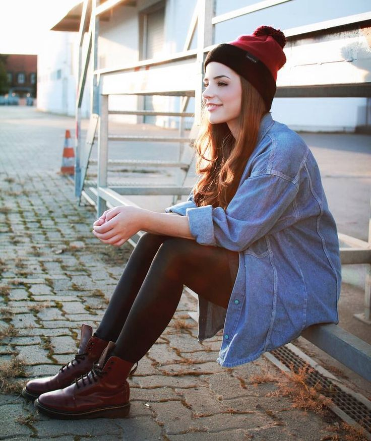 Juli from Germany - Dr Marten's Style