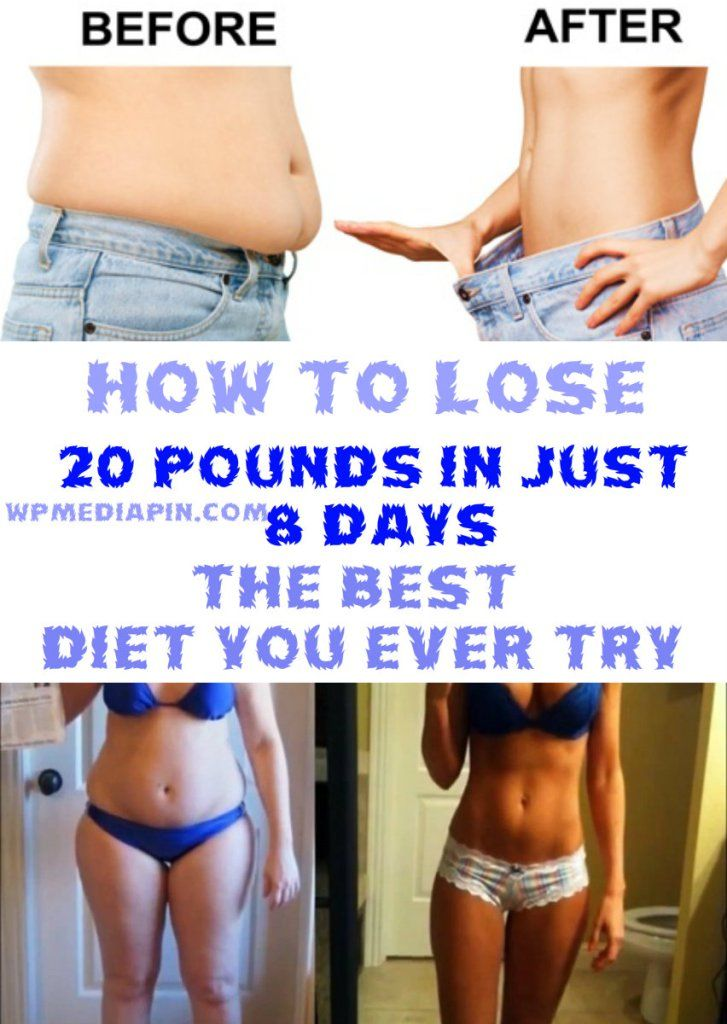 How to Lose 20 Pounds in Just 8 Days � The Best Diet You Ever Try