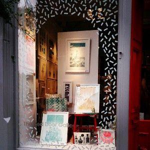 Reload: Tom Pigeon Snow - Art Prints | Design Products | STV Edinburgh Featruing jewellery notebook copper brass