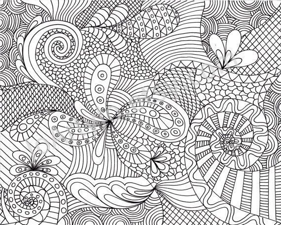 printable adult coloring pages | Coloring Page Printable Zentangle Inspired Patt... - http://designkids.info/printable-adult-coloring-pages-coloring-page-printable-zentangle-inspired-patt.html printable adult coloring pages | Coloring Page Printable Zentangle Inspired Pattern by JoArtyJo on ... #designkids #coloringpages #kidsdesign #kids #design #coloring #page #room #kidsroom