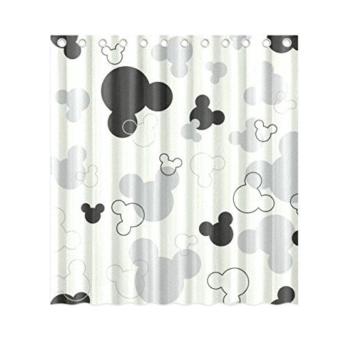 Mickey Mouse 60inch by 72inch Skull Polyester Shower Curtain One Side  Design Only Mykey Custom Show. 105 best  HOME Bathrooms  Disney  images on Pinterest   Mice