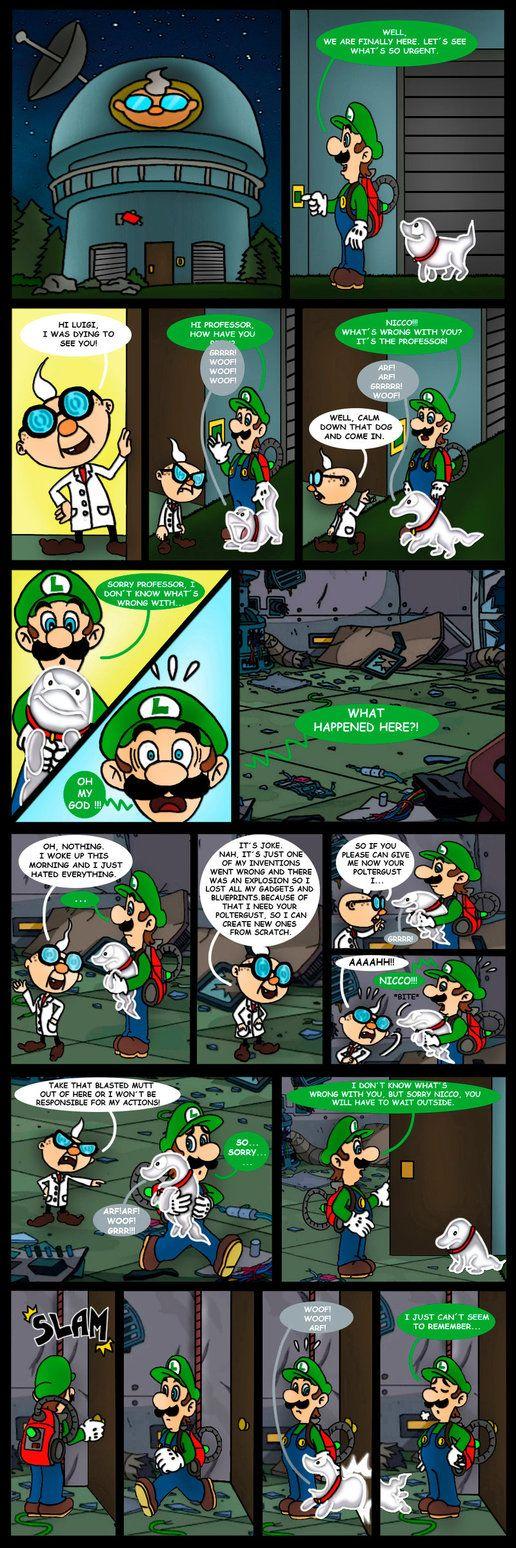 Luigi's Mansion 3 comic - Dark Illusions - 2 by Princesa-Daisy