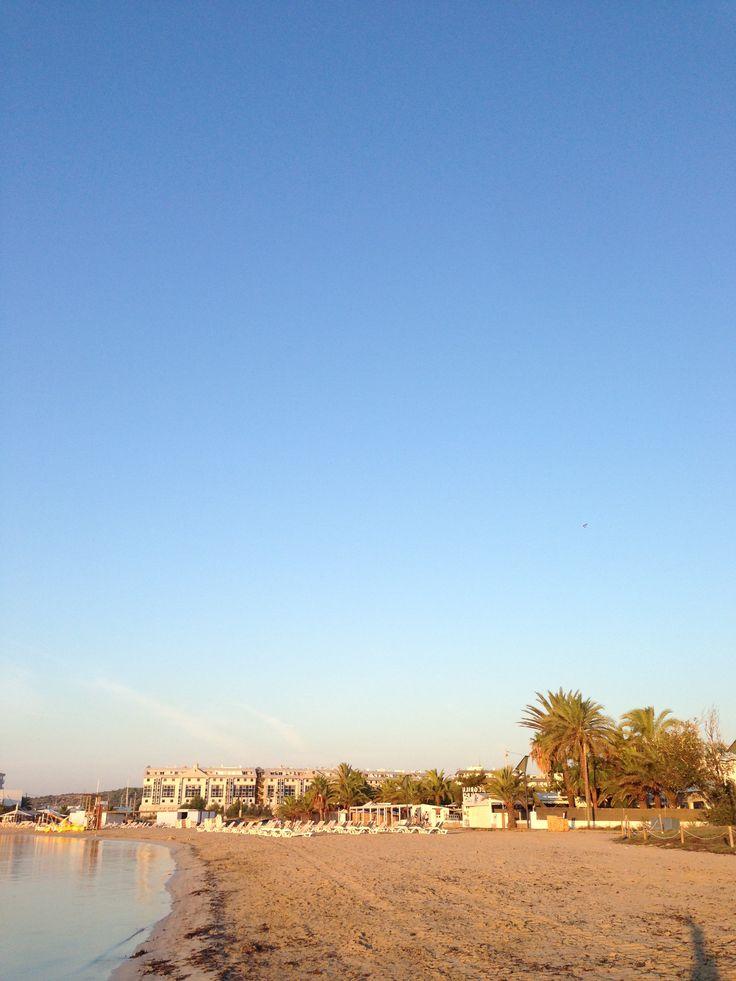 Talamanca beach inthe morning. Who is ready for a #Ibiza holiday..?