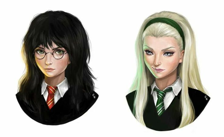 Womans_Harry potter & Draco Malfoy