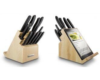 Victorinox bloc porte-couteaux rotatif avec support pour tablette