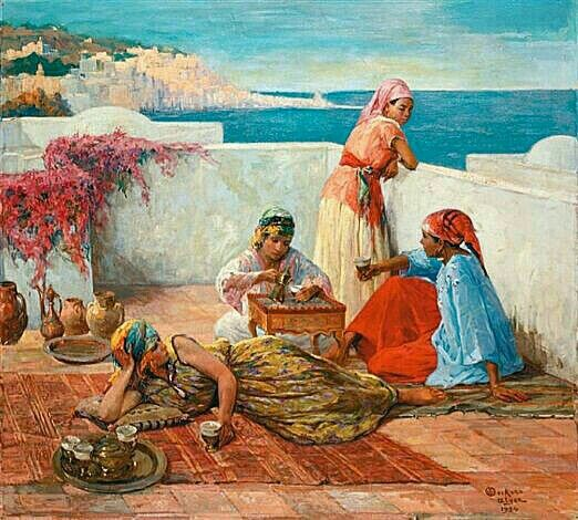 492 best images about peintures orientalistes alg rie on for Peinture satinee algerie