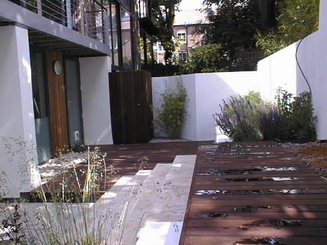 Highgate Mews Courtyard job