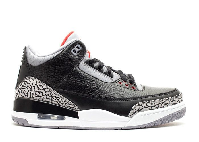 The official hub page for the Air Jordan 3 OG Retro Black Cement where  you'll find the latest images, release information, and other updates.