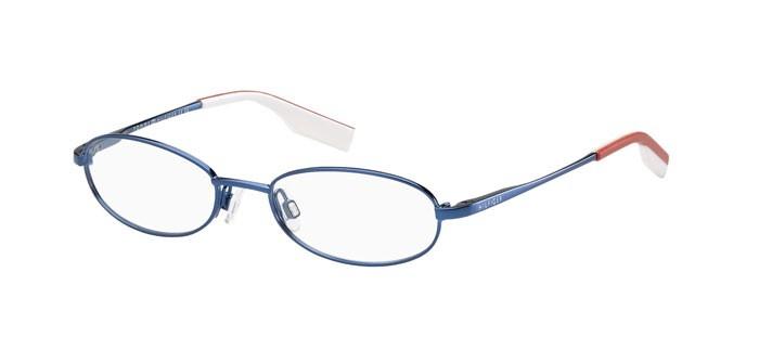 Lunettes de vue - Pas cher - Tommy Hilfiger Enfant TH-1147 Bleu U7F