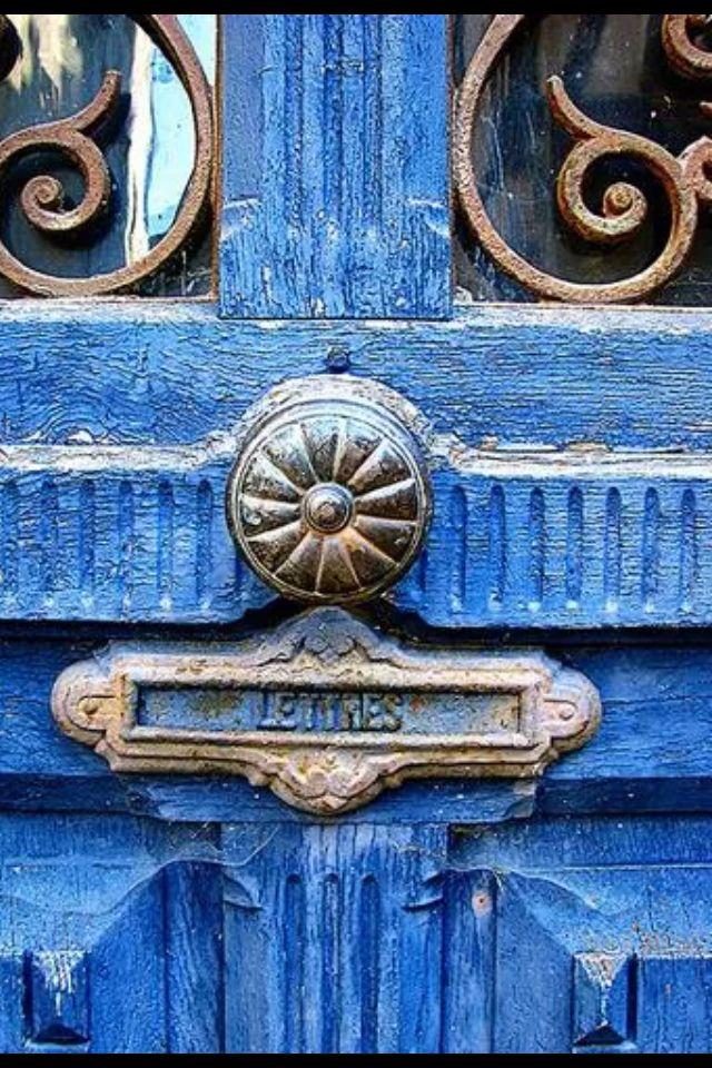 More of blue door