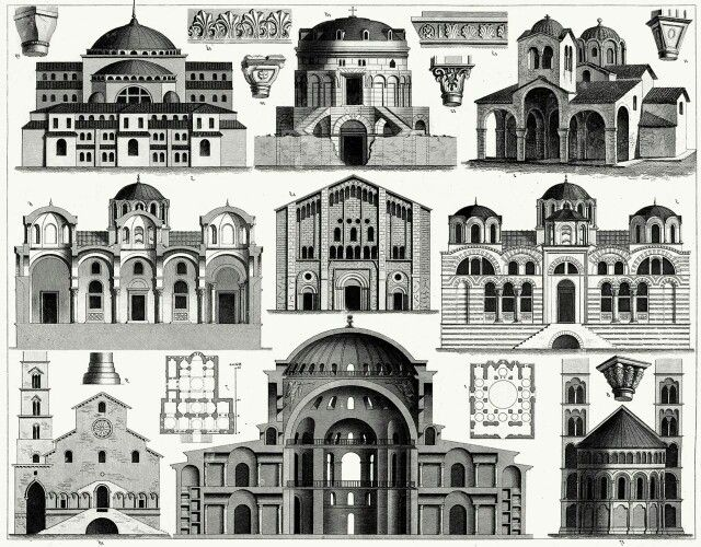 the beauty of byzantine architecture in churches in europe and on the orient Problems involved the second gives a detailed appreciation by periods of the empire's achievements in architecture, mosaic, painting, sculpture, manuscript illustration, and other countries of eastern europe for another volume in this series 16 purpose byzantine churches were turned to the east (with the usual.