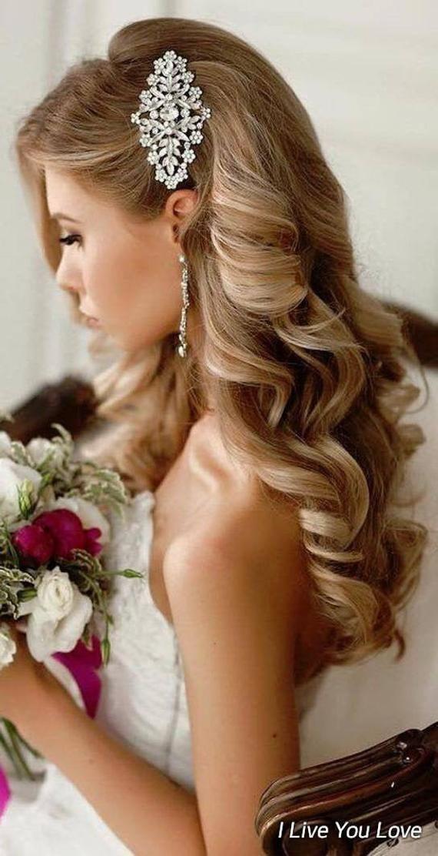 Bridal Hair In 2020 Bridal Hair Wedding Hair Down Wedding Hair Pieces