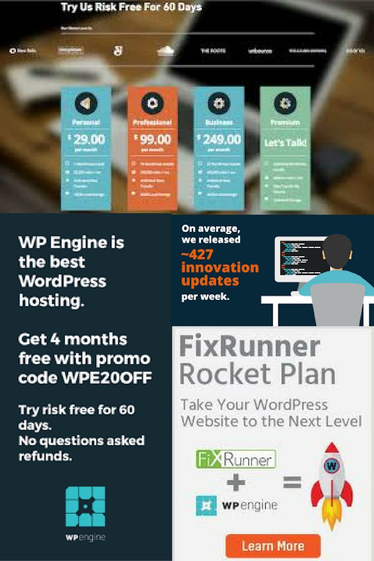 WP Engine is my choice for WordPress hosting. They have lots of different plugins, a support center, you can learn hacks and so much more. Plus they offer different pricing plans that are sure to fit each persons needs. Click here for a 20% discount off your subscription. #PAID AD