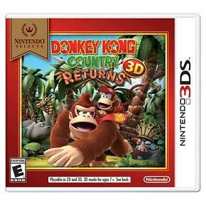 Nintendo Selects: Donkey Kong Country Returns 3D (Nintendo 3DS) : Target