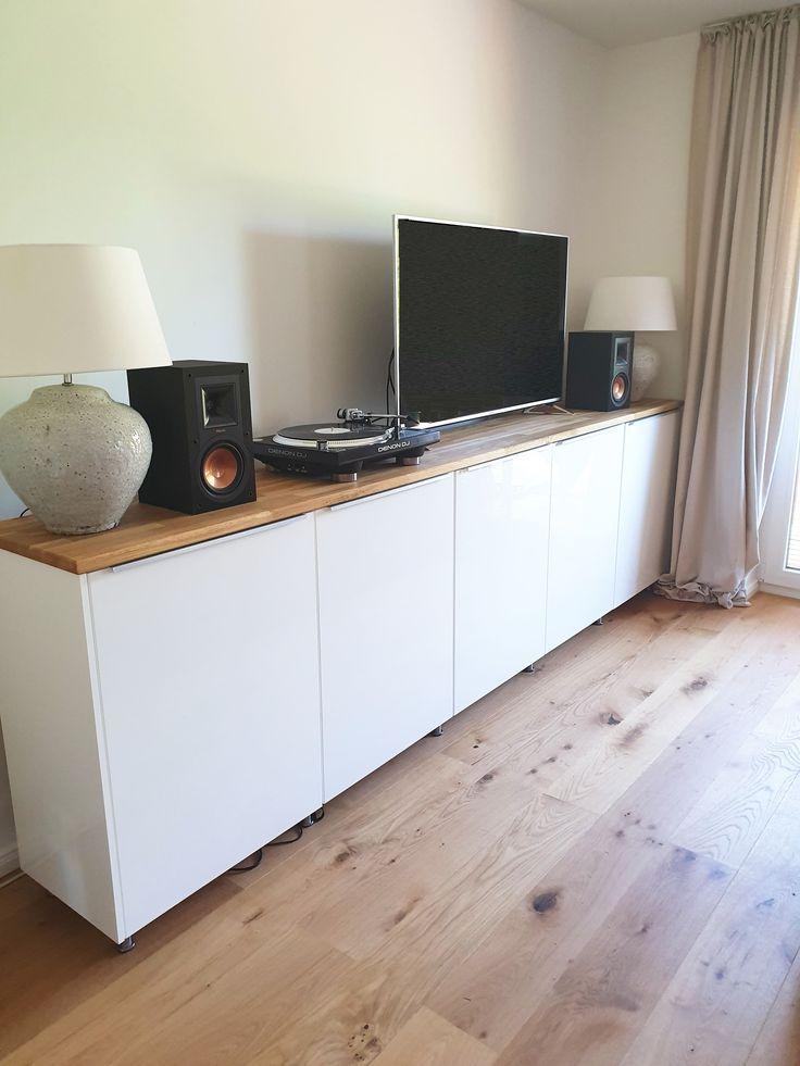 Sideboard aus Metod Küchenschränken - IKEA HACK (mit ...