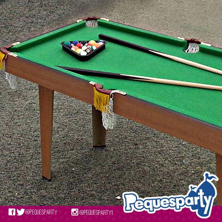 Contando siempre con lo mejor en fiestas tu #peque puede disfrutar de nuestros #juegos de mesa como la de #pool ideal para que desarrolle un poco de puntería y concentración. PequesParty Fábrica de Sonrisas! #pooltable #kids #billar #boardgame #mcbo #vzla #entretenimiento #party #pequesparty #fun #diversion #jugar #games #chilling #amazing #yeah #261 #marketing